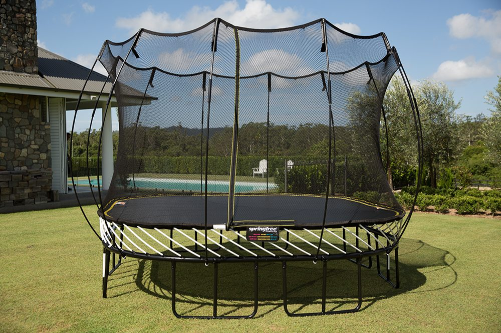 Springfree Trampolines Backyard Fun Zone