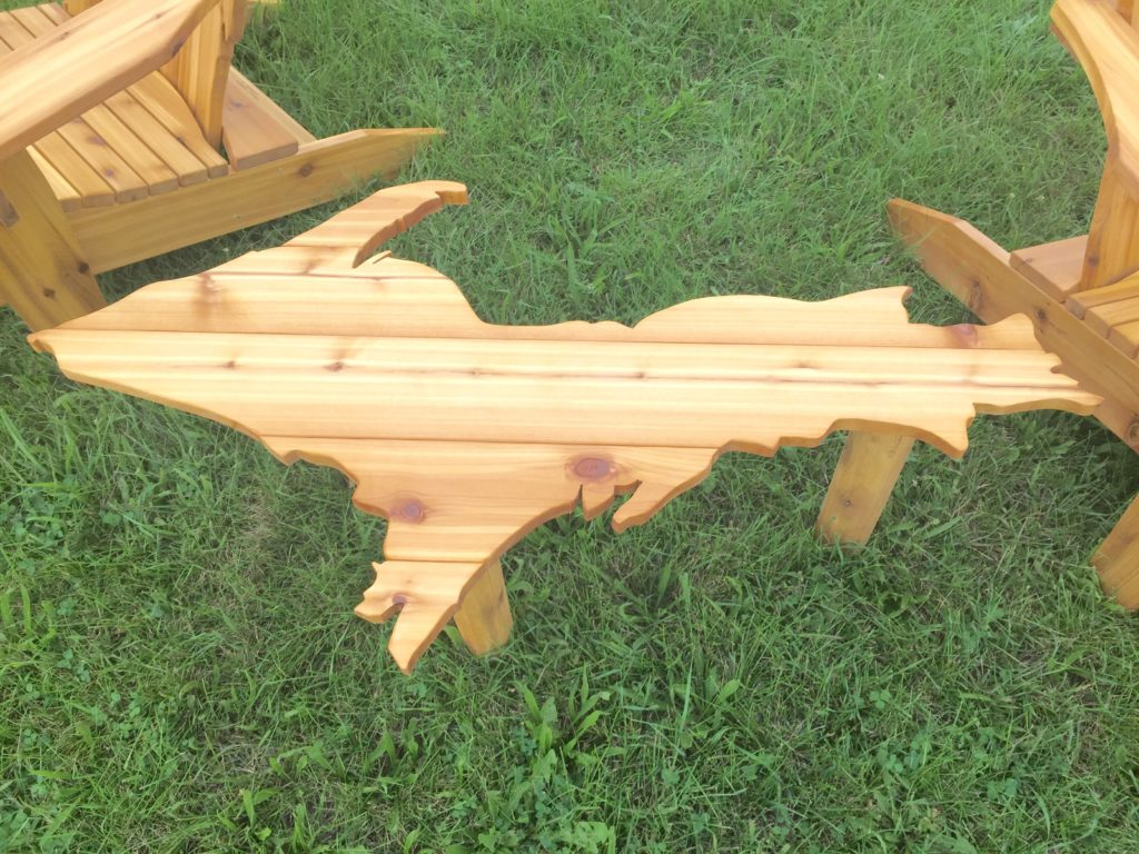 #UpperMichigan #OutdoorFuniture #Michigan #GrandRapids #Wooden