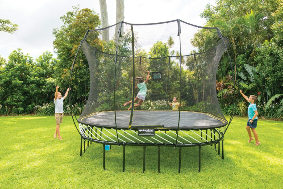 backyard fun zone play sets trampolines basketball hoops