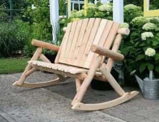 Rocking Love Seat