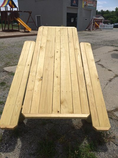 6u2032 U0026 8u2032 Straight Picnic Tables