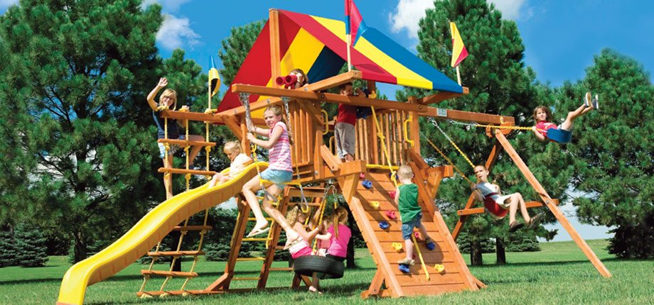 Fun Backyard Sports : Backyard Fun Zone  Play Sets, Trampolines, Basketball Hoops