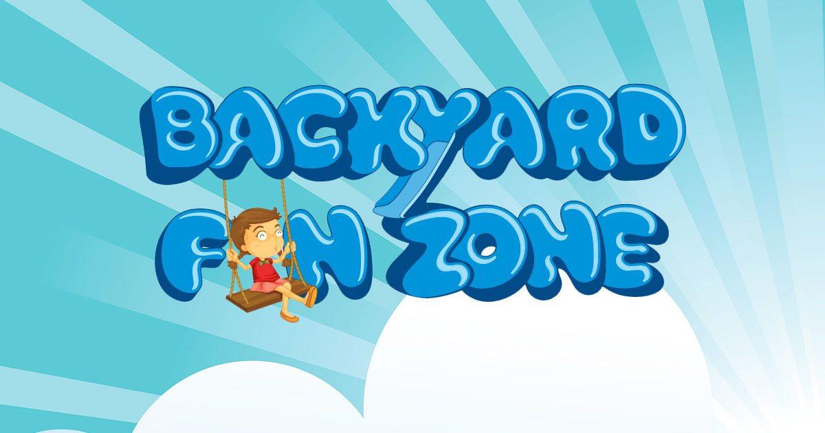 Backyard Fun Zone Play Sets Trampolines Basketball Hoops