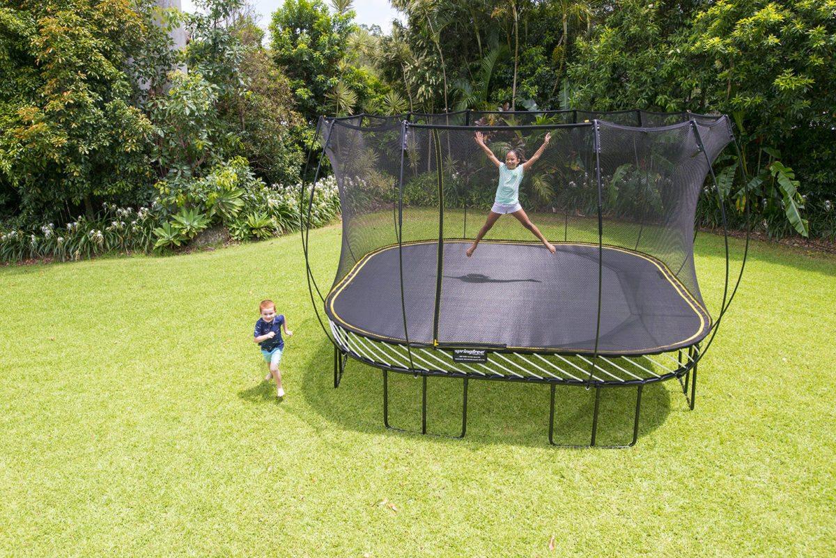 today u0027s olympic event is trampoline backyard fun zone